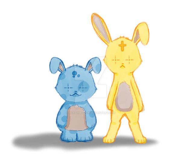 Bunnies by mxrshmellow