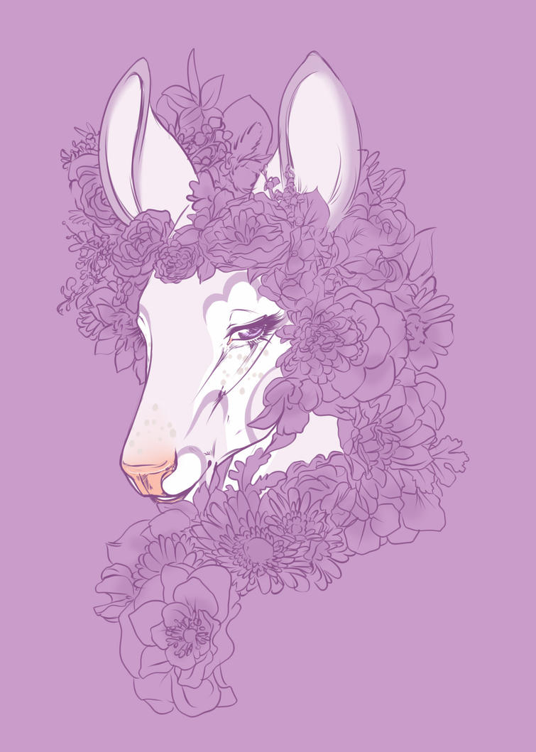 Lady purple by halloweendonkey