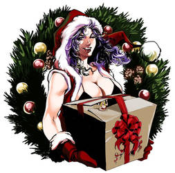 Marilyn Christmas by DreamtalesComics