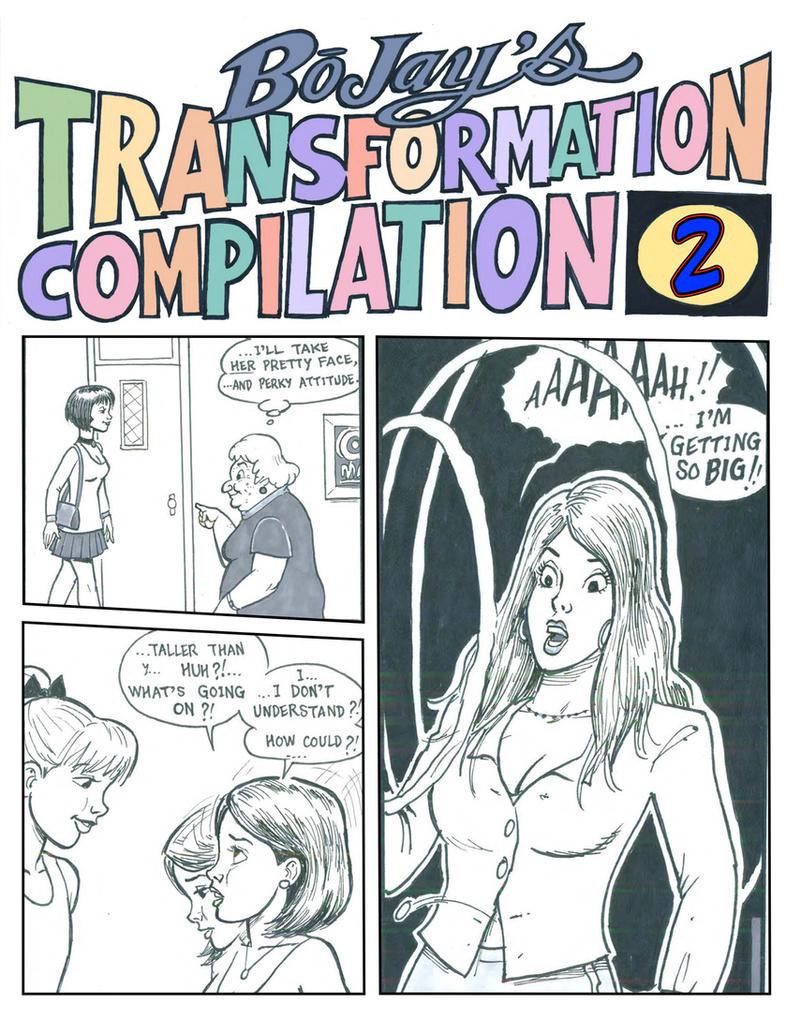 Bojay's Transformation Compilation Two by DreamtalesComics