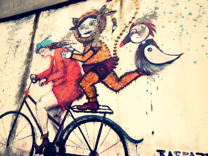 Mural in Katowice by malibu-z-mlekiem