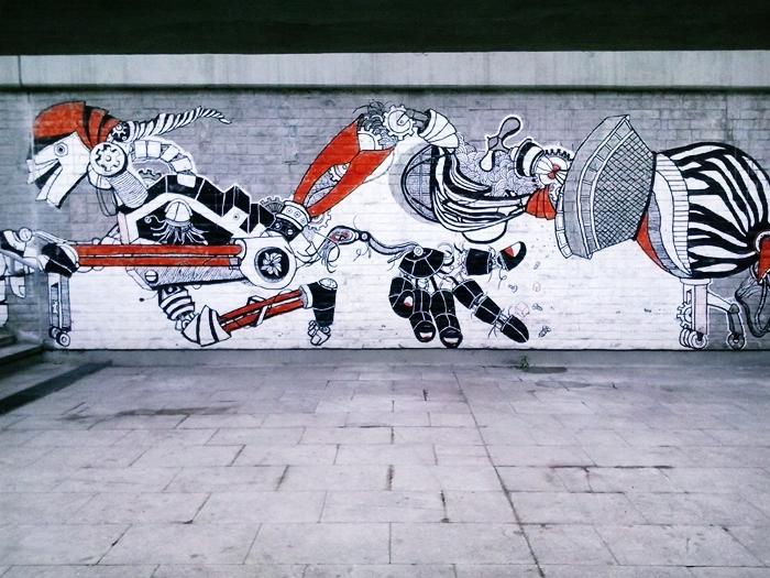 Mural in Katowice [2] by malibu-z-mlekiem