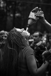 Girl with Beer by nexvatit