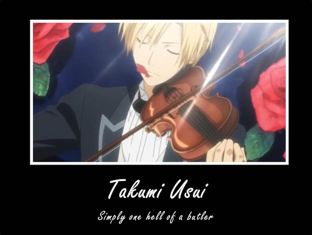 Takumi Usui is... by watercolos