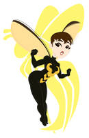 Retro Heroes: The Wasp by avidcartoonfans