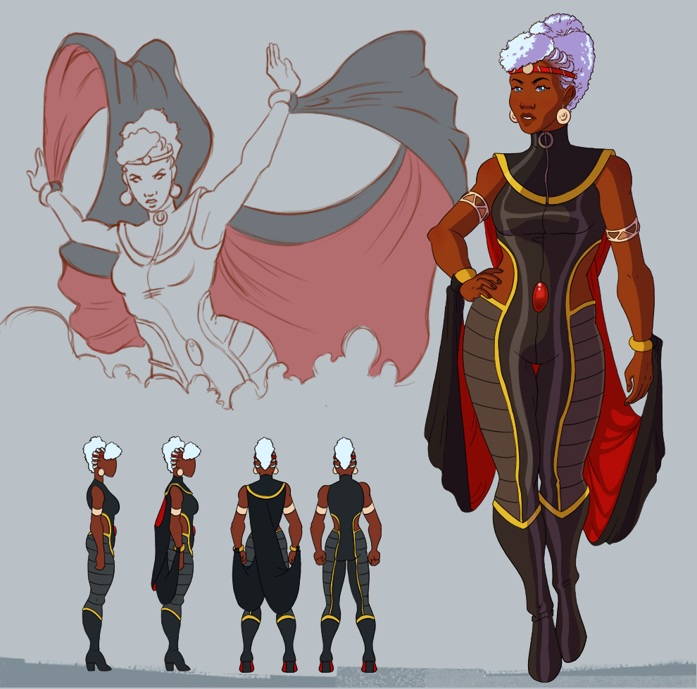 Storm Redesign by avidcartoonfans