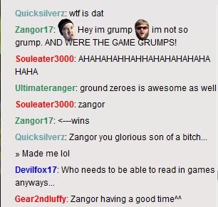 Another Great HFC chat moment by Zangor17