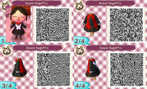 Ayano Kagerou Project ACNL QR code