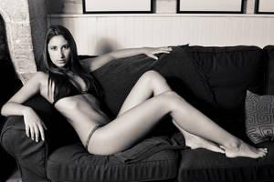 Black Sofa by Aiae