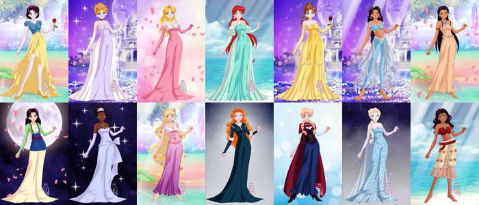 Senshi Disney Princesses