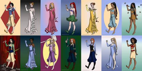 Arkham Princesses