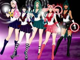 Outer Senshi XGirls