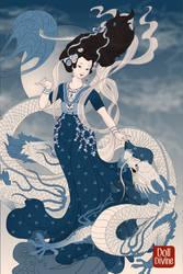 Sharna (Sky Goddess) by Lunakinesis