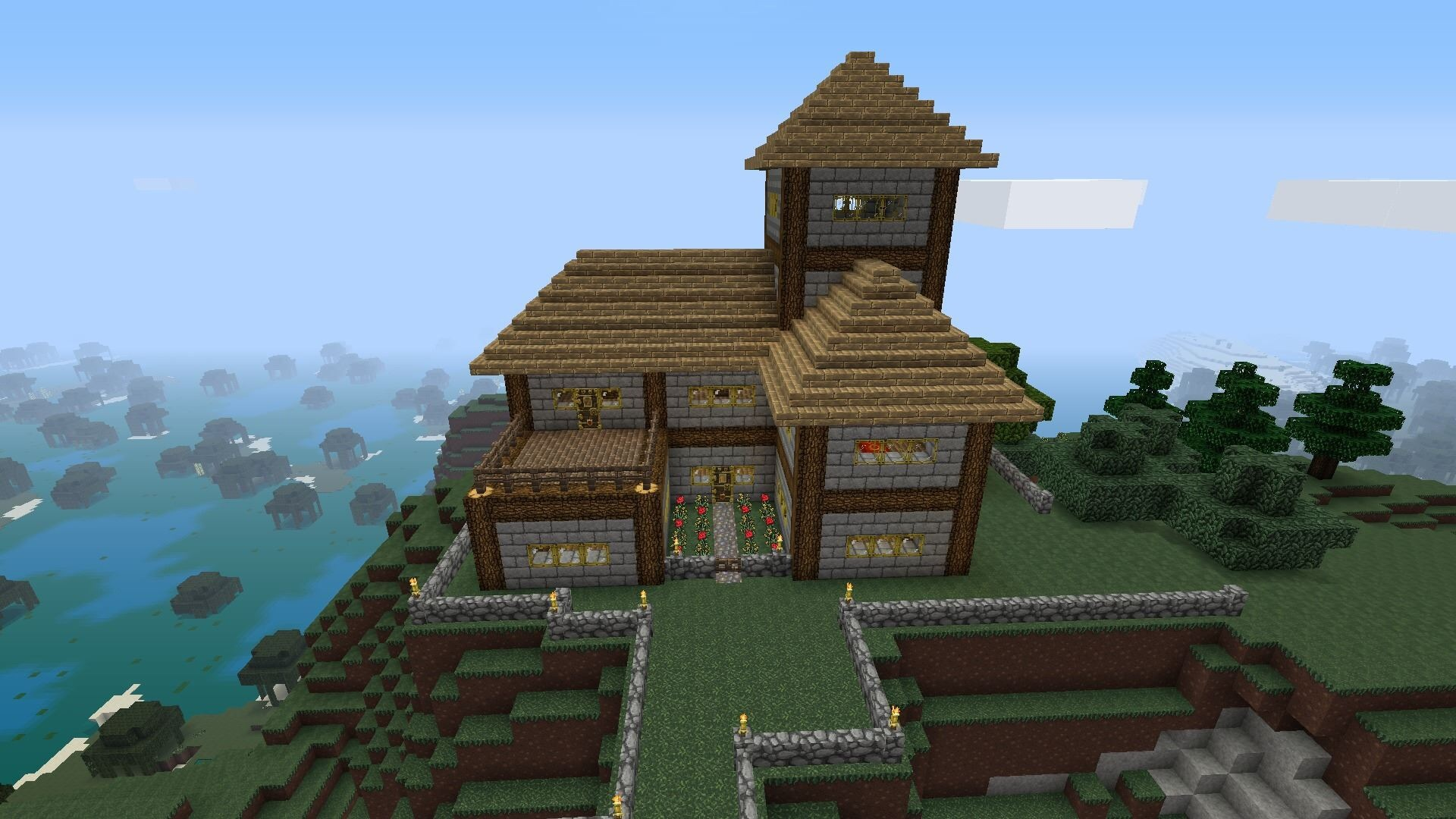 Minecraft survival house alt versio on ps4 by mr foxhound for Minecraft maison design