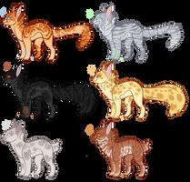Feline adoptable 6 CLOSED by LordEggnog