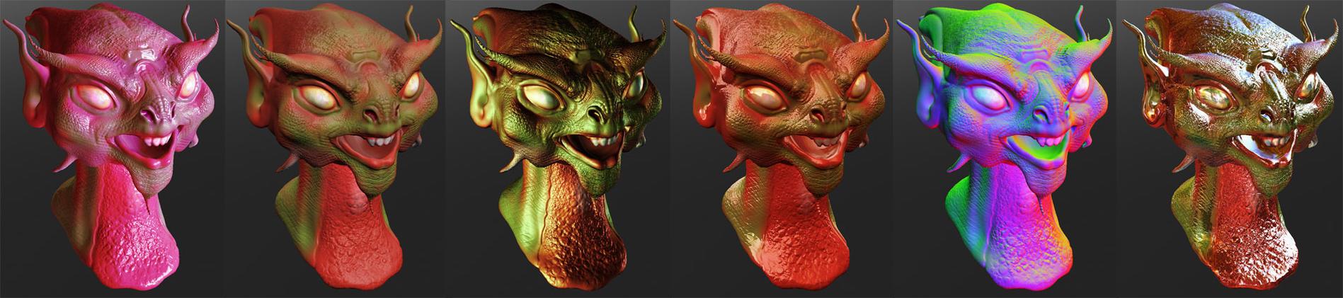 Sculptris Creature Shaders by fernandoreinicke on DeviantArt