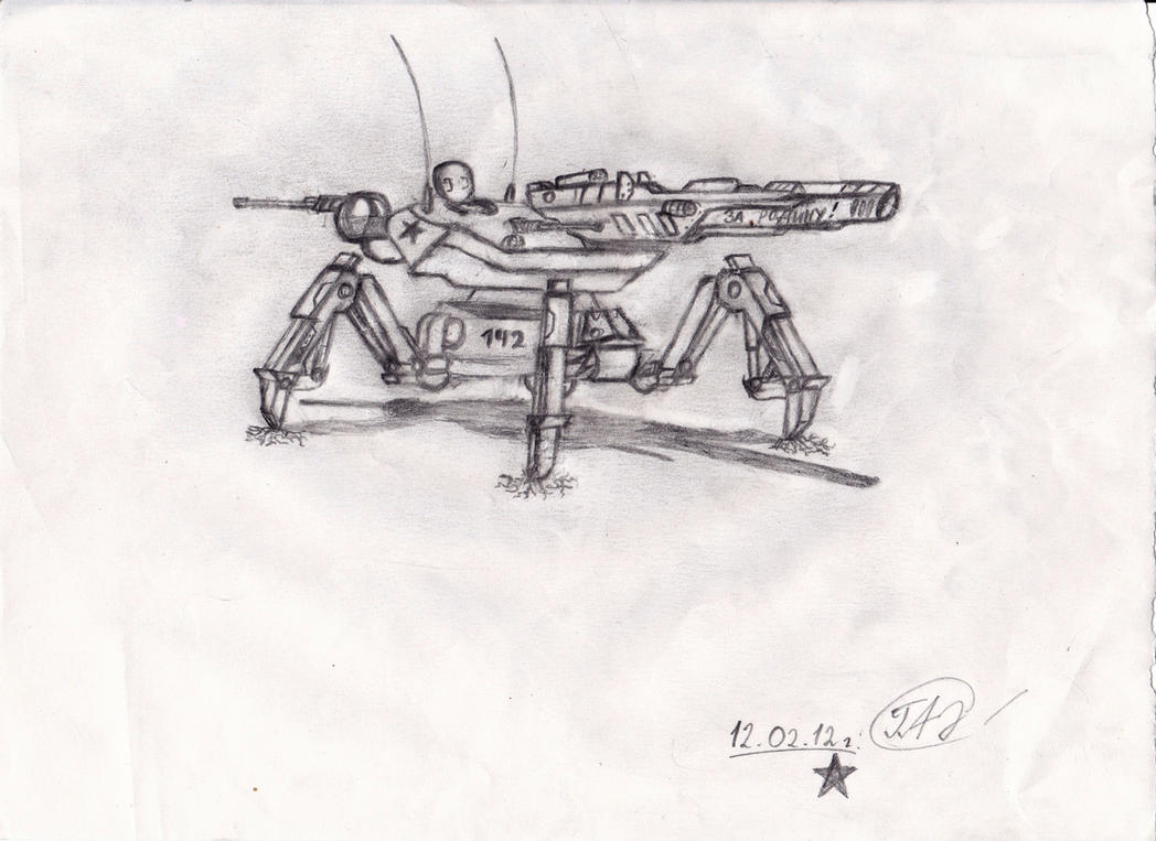 Reaper - 2 '142' by AnvarDragon