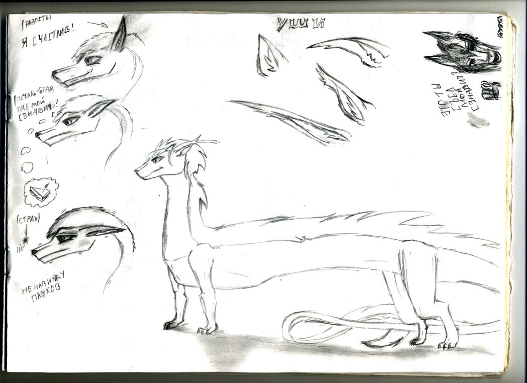 Conventional sketches by AnvarDragon