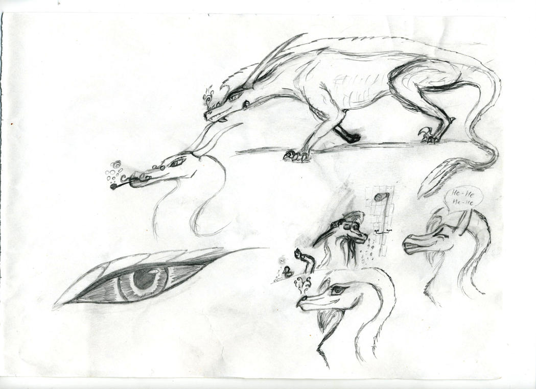 Conventional sketches #2 by AnvarDragon