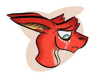 Sad by AnvarDragon