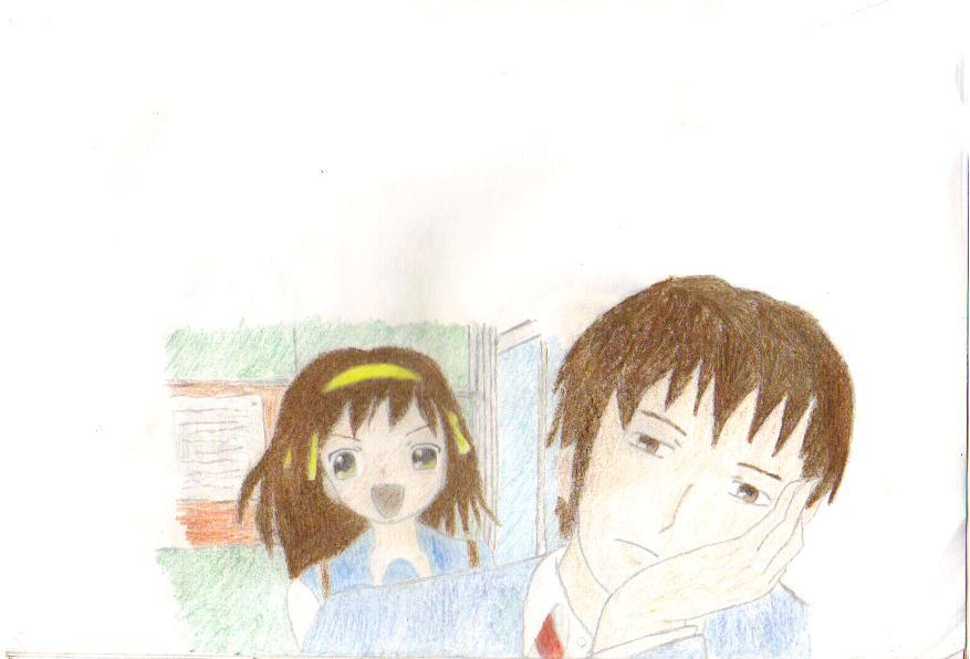 haruhi and kyon relationship quiz