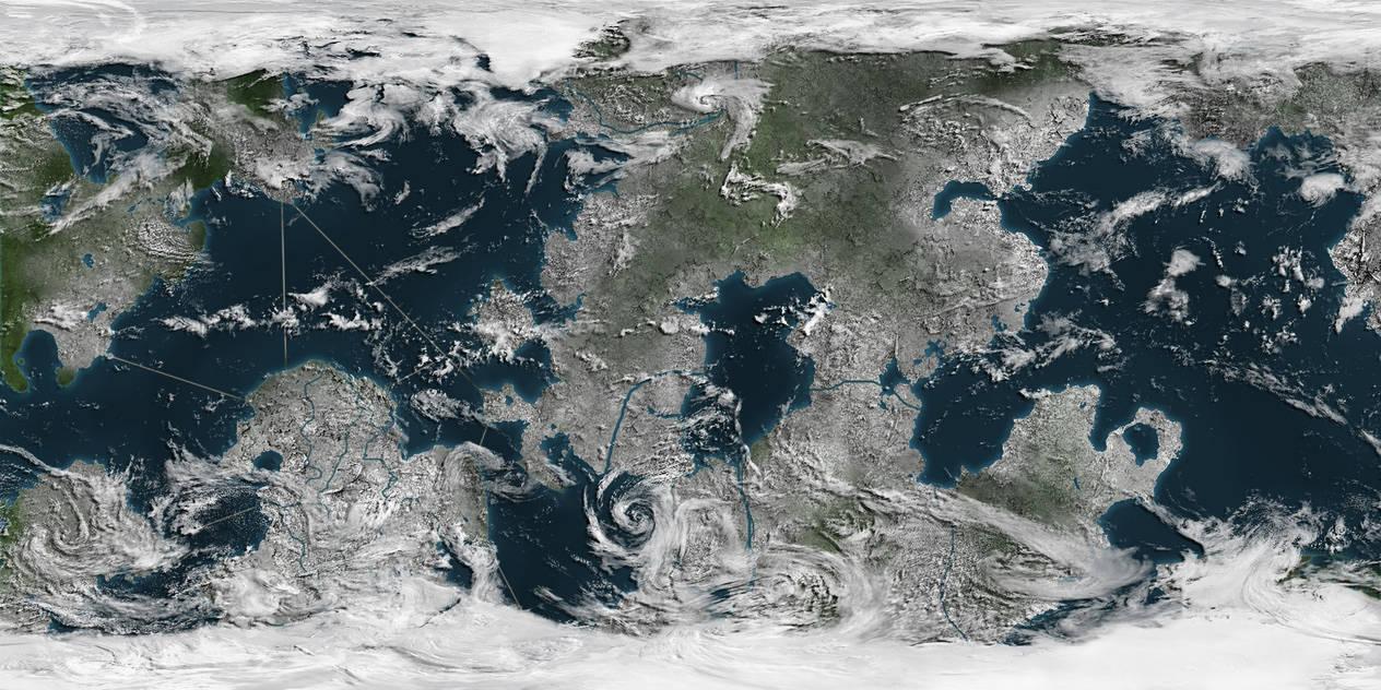 earths surface alb seasonal - HD2000×1000