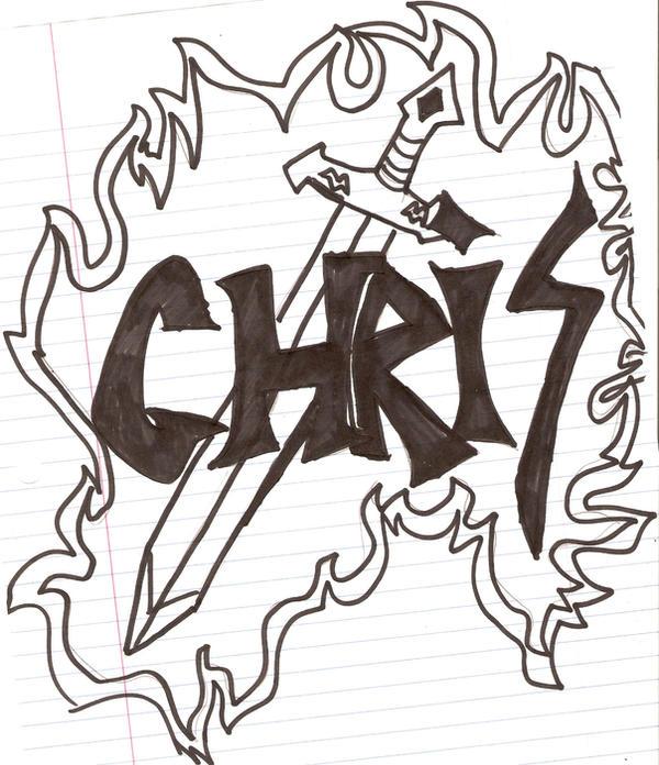 SWORD WITH NAME CHRIS by SwordmasterG on DeviantArt