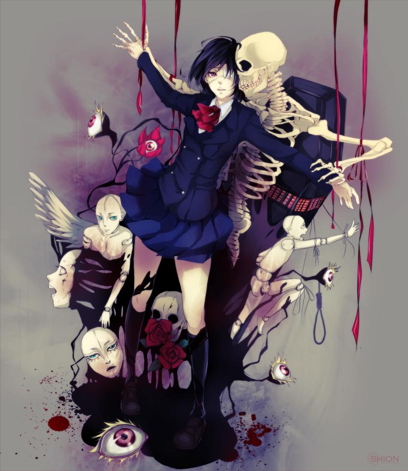 Bloody Boy Love Wallpaper : Misaki Mei by sayuuhiro on DeviantArt