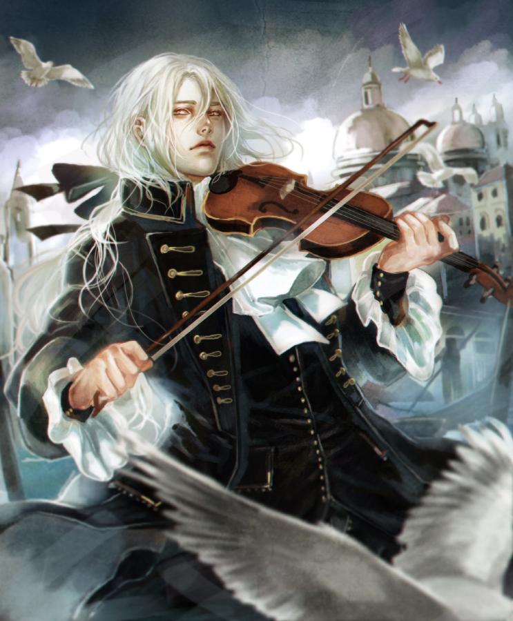 Violin Wallpaper: Violin By Sayuuhiro On DeviantArt