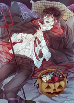 Devil sleeping