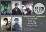 New year sale commission FULL