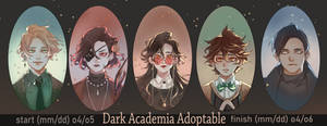 Dark Academia adoptable