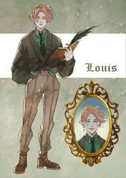 Dark academia adoptable Louis