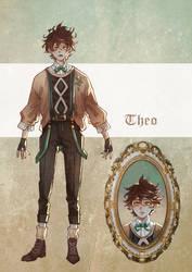 Dark Academia Theo adoptable