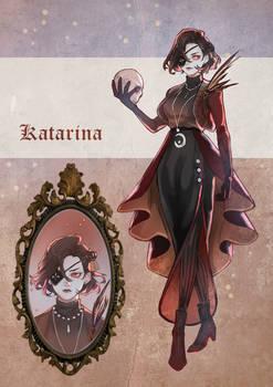 Dark Academia Katarina adoptable