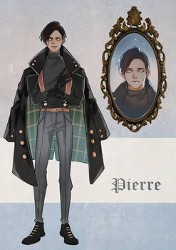 Dark Academia Pierre adoptable