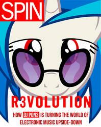 Spin Mag Cover: DJ PON3 by goldenacorn93