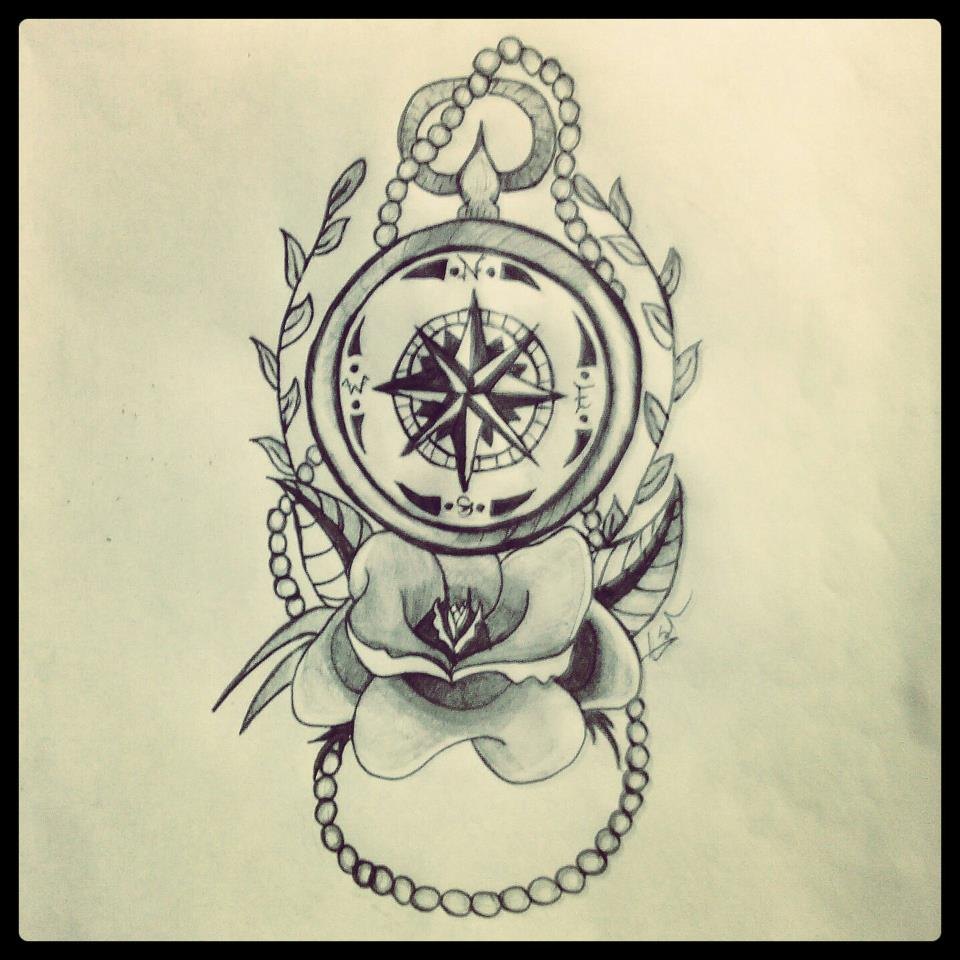 Nautical Compass Drawing Nautical compass. by: pixgood.com/nautical-compass-drawing.html