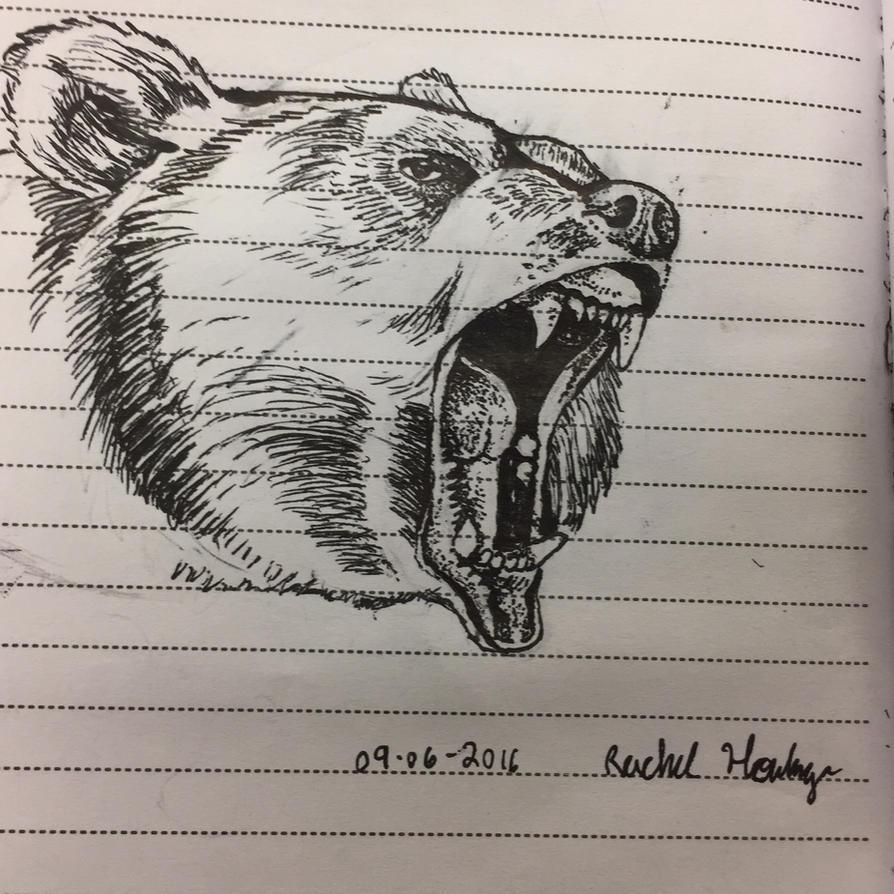 Bear by SilvaDragoness