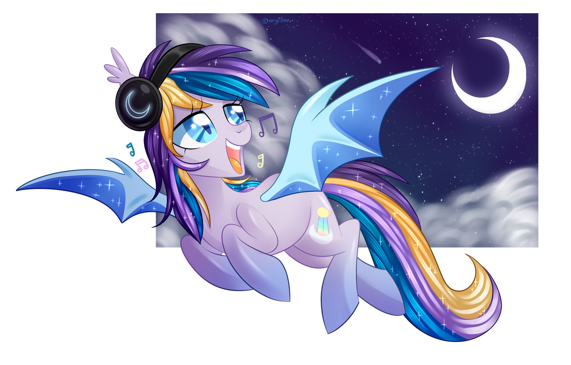 Moonlight Waves by engibee