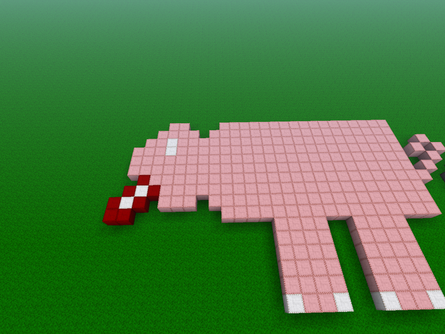 Minecraft Pig Cake Images : Minecraft Pig Cake Ideas and Designs