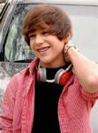 Austin with his headphones