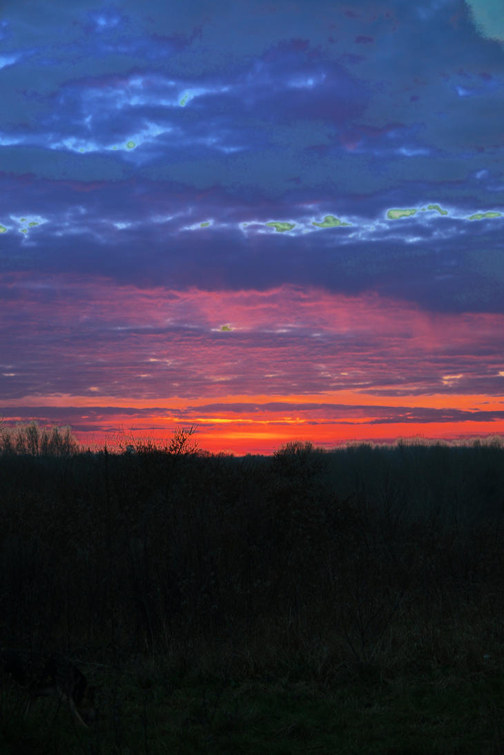Fire in the Sky by kwarts