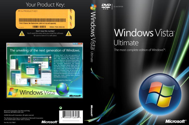 Windows Vista Ultimate Black Edition 2009 32 Bit - jmmediazone