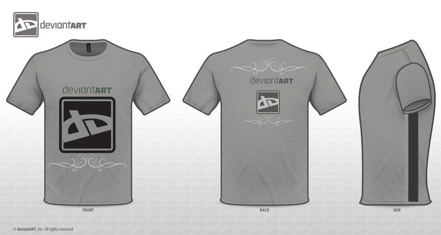 Logo T-Shirt Design Challenge by PrincessBushi