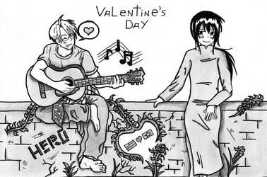 Hetalia:AmericaXVietnam Valentine's Day by ProTheKamikaze