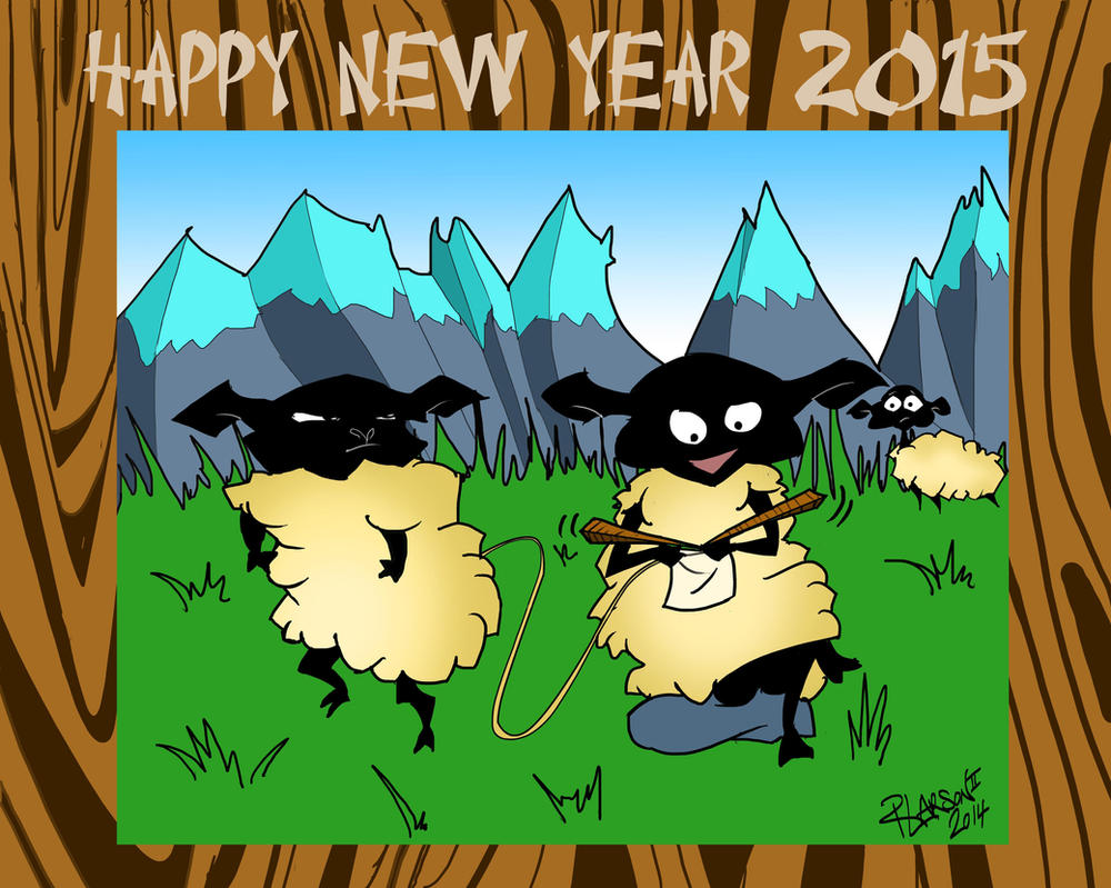 2015 Year of the Wood Sheep by quentinlars