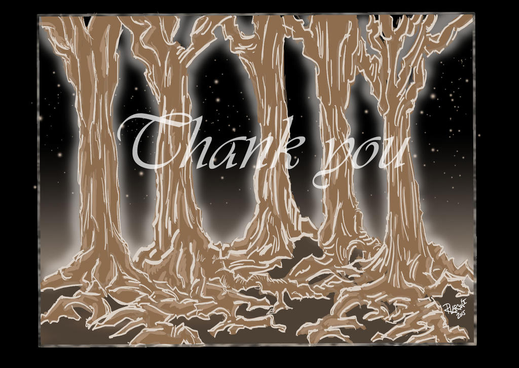 Thank You Card  2a by quentinlars
