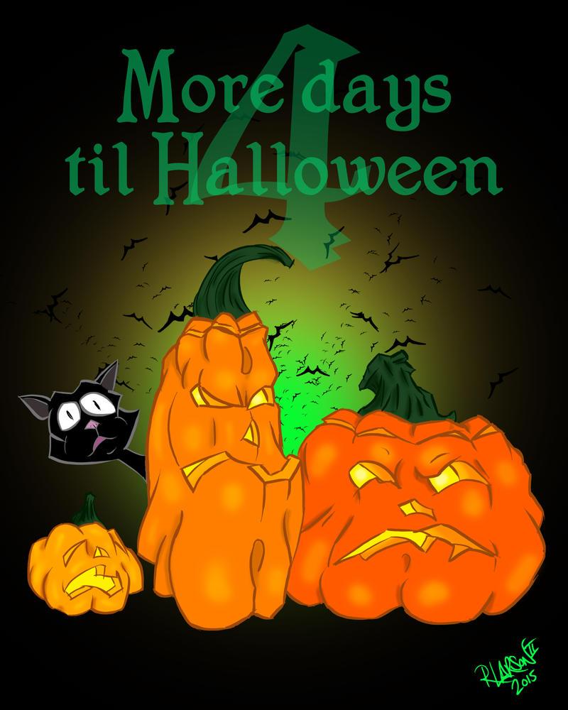 Halloween 2015 4 days by quentinlars