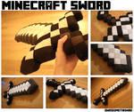 Minecraft Sword - Plush by AwesomeTikiWiki